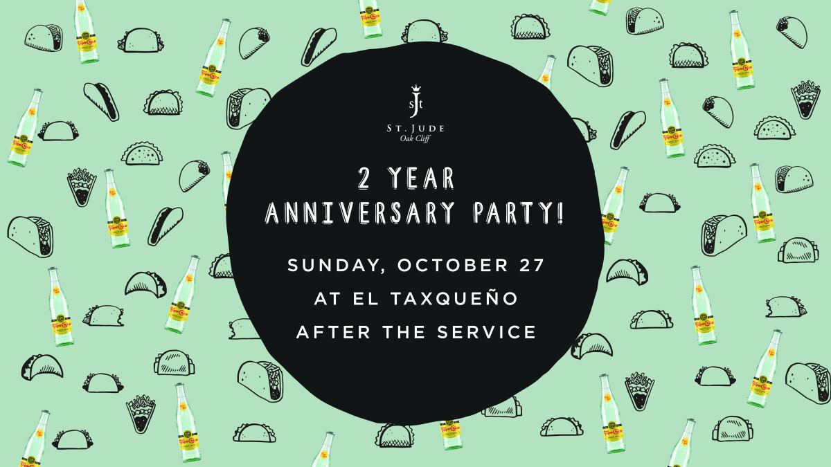St. Jude Oak Cliff's 2-Year Anniversary Extravaganza!